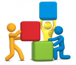 team building blocks